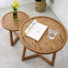 champs mei pine solid wood coffee