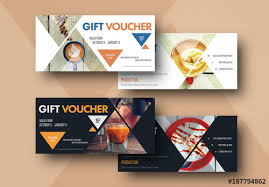 Create Your Own Voucher Template Amazing 48 Gift Voucher Layouts With Coffee Elements Buy This Stock Template
