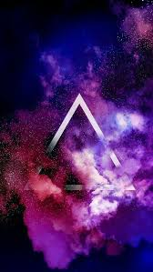 galaxy wallpaper tumblr triangle. Triangle Of Fame Tumblr Iphone Wallpaper Purple Galaxy For With