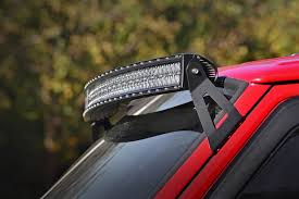 54 Inch Curved Light Bar Ford 54 Inch Curved Led Light Bar Upper Windshield Mounts 04 14 F 150