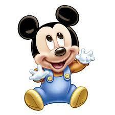 Mickey Mouse Bebe Silueta - Novocom.top