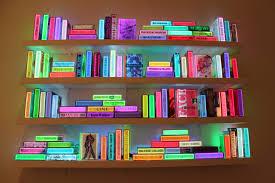Bookshelf Lighting Airan Kangs Illuminated Bookshelf Arts Observer