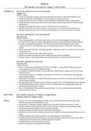 Quality Assurance Analyst Resume Sample Quality Assurance Analyst Resume Samples Velvet Jobs 9