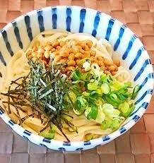納豆 うどん レシピ