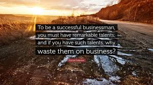 Yisroel Salanter Quote To Be A Successful Businessman You Must