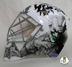 i am still painting like a madman not for the pro s but like i said i m having fun now and on my terms i m still painting goalie masks painting car s