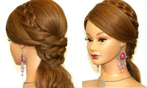 cool hair designs for long hair easy prom hairstyle for long hair cool design 36059