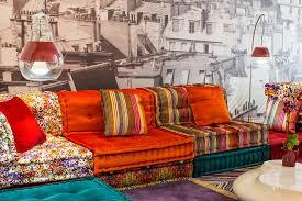 roche bobois floor cushion seating. The Mah Jong Sofa Belongs In OTT Hall Of Fame--crushed Velvet, Stripes, Pixels (? Roche Bobois Opens A Second Store Manhattan--NYT Floor Cushion Seating H