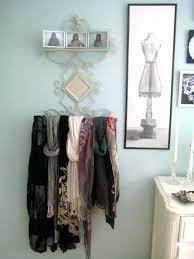 scarf rack bedroom eclectic bedroom idea in scarf rack wall mounted scarf rack