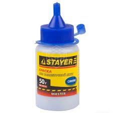 <b>Краска</b> Stayer для <b>разметочных</b> шнуров, синяя 50 г - купить в ...