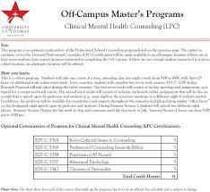 Health Chart St Thomas Off Campus Master S Programs Pdf