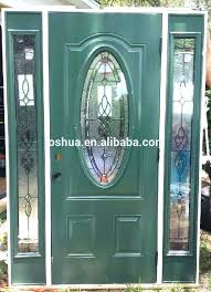 cadence right hand oval lite decorative 2 glass door entry inserts and frames n