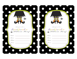 Free Printable Birthday Invitation Templates For Kids Printable Halloween Party Invitations For Kids 844 Kids Birthday