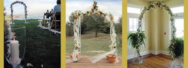 indoor wedding arches. images courtesy of glokbell, fuzzy gerdes, and virtualern on creative commons indoor wedding arches