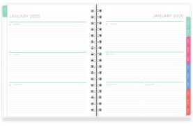 Design Your Own Day Planner Pages Personalized Blue Sky