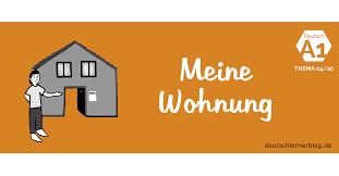 Deutsch Lernen A1 Thema Wohnung Wortschatz Wohnen