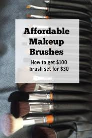 affordable makeup brusheakeup brushes for beginners that are amazing this makeup brush set