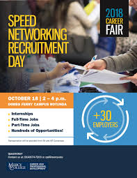 Speed Networking Recruitment Day Career And Professional