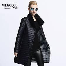 womens winter coats aliexpress com miegofce 2017 new spring jacket parka women winter
