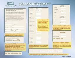 seller net sheet guide