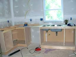 plywood kitchen cabinets home depot thickness