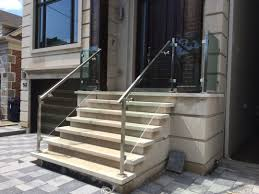interior glass railing cost gl deck systems home depot exterior railings clearview cable system stainless steel