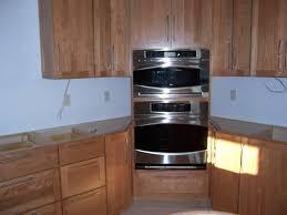 Corner Upper Cabinet Corner Wall Oven Good Or Bad Idea