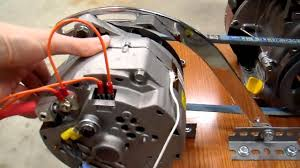 diy 12v generator charger 7 belt drive update