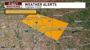 A Severe Thunderstorm Warning has been ...