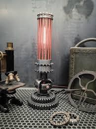 industrial age furniture. steampunk lighting furniture industrial machine age y