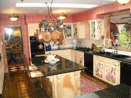 full size of beautiful red checd wall sticker background with black wooden kitchen furniture set plus