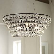 high low arctic pear chandelier