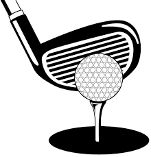 Image result for golf clipart black and white