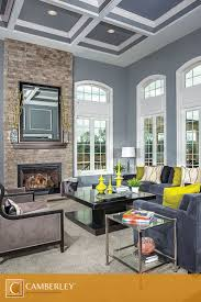 When it comes to the Garrett design's living room, height is everything,  especially when it comes to its floor-to-ceiling stone fireplace. Make the  most of ...