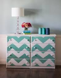 chevron painted furniture. Chevron Striped Dresser Painted Furniture O