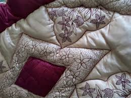 Welsh Quilts Cot size Pelaw Eiderdown