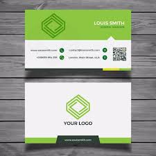Green Card Template Green Business Card Template Template For Free Download On Pngtree