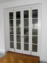 glass bifold doors. Ways To Work With A Windowless Room: Folding Interior Glass Doors Bifold