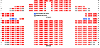 Sunderland Empire Seating Chart Empire Theatre Seating Plan Theatres In Consett Empire