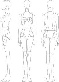 Fashion Template Female Arcgerontologyinfo