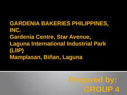 Gardenia Bakeries Philippines Inc