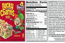 Lucky Charms Nutrition Facts Ruidai With Lucky Charms Food