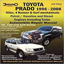Toyota Prado 1996-2008 Automobile Repair Manual-EP.: Max Ellery ...
