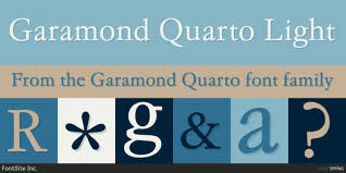 Download Garamond Garamond Quarto Font Download
