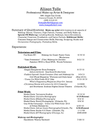 Mac Cosmetics Resume Sample Mac Cosmetic Resume Cosmetics Sales Resume Resume Ideas 6