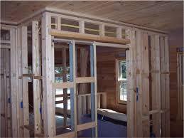 Pocket door framing.