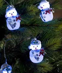 Indoor Snowman Lights Indoor Christmas Snowmen Blue