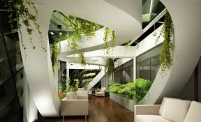 High Tech Bedroom Wallpaper Living Room Design High Tech Modern Plants Light