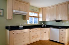 Natural Maple Shaker Kitchen Cabinetsif Only They Would Stay This