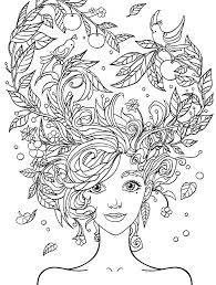 Recolor Coloring Pages Impressive Coloring Pages Hair Crazy Hair